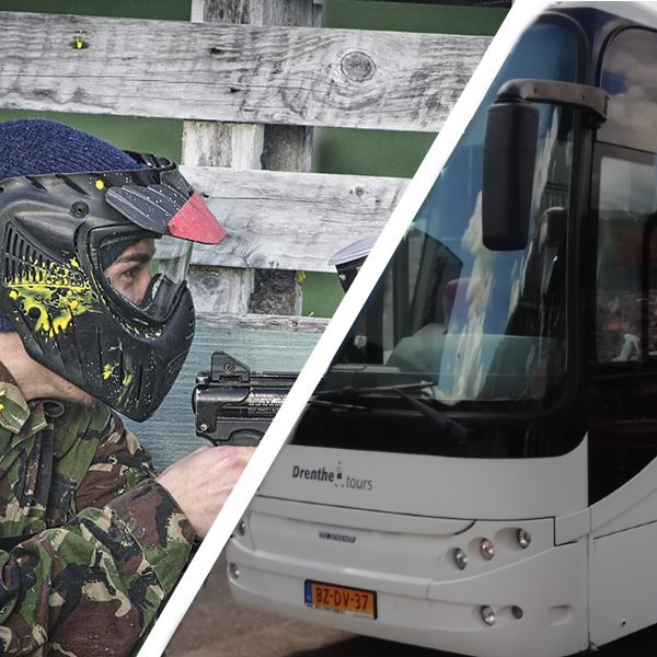 Paintball + Bus